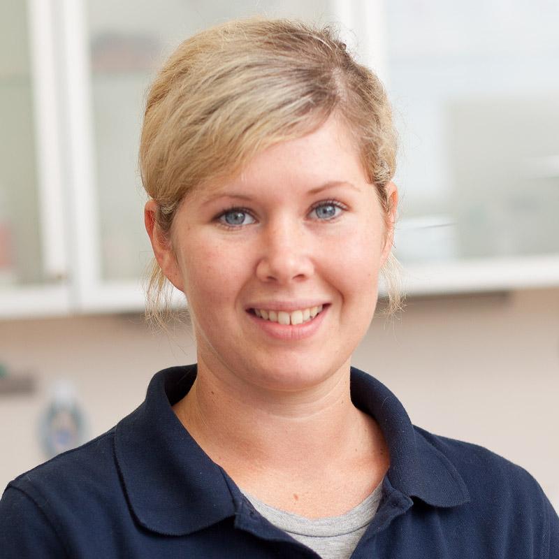 Vanessa Willms, tiermedizinische Angestellte