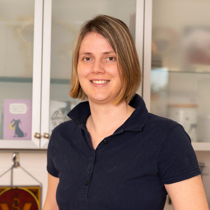Sabrina Allersmeier, Tierarzthelferin
